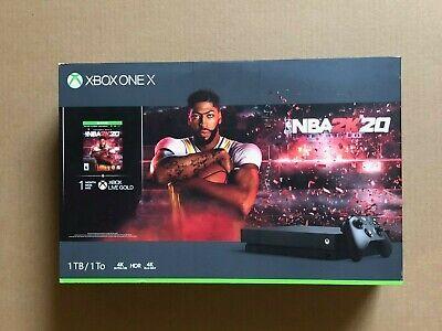 Xbox One X 1TB Console NBA 2K20 Bundle CYV-00343