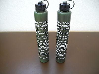 Dekontamination Bundeswehr ABC Entgiftung Dekontaminierung Puder 12 x 60 g