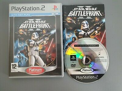 Star Wars Battlefront II 2 - Sony Playstation 2 Two Game PS2 - PAL complete