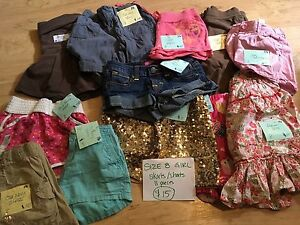 Size 8 girls bottom lot