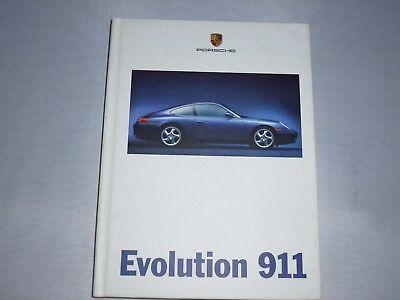 originales Porsche Buch / Broschüre  Evolution 911 incl. Beiheft