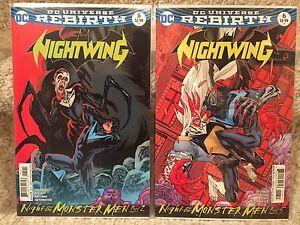 Nightwing #5 and #6 (Rebirth)