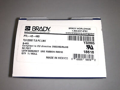 Brady Ptl-42-483 Label For Tls 2200 Tls Pc Link