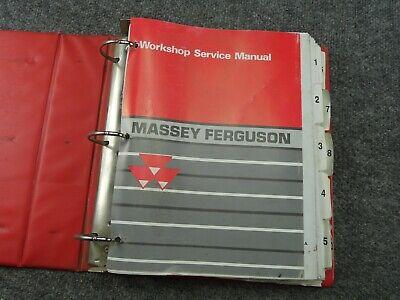 Oem Factory Massey Ferguson Mf 230 Mf 235 Tractor Service Workshop Manual