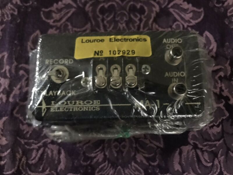 NEW: Ma-1 Louroe Electronics No. 102929 Audio Interface Adapter.