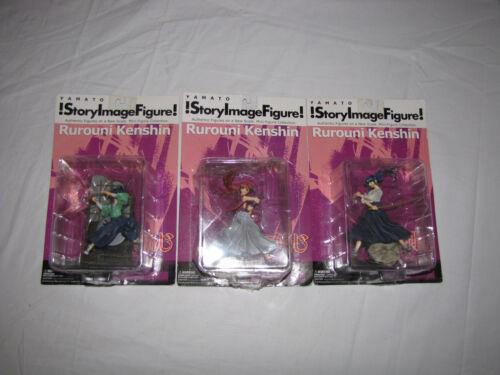 Rurouni Kenshin Yamato !Story Image Figure! Lot of 3 NIB