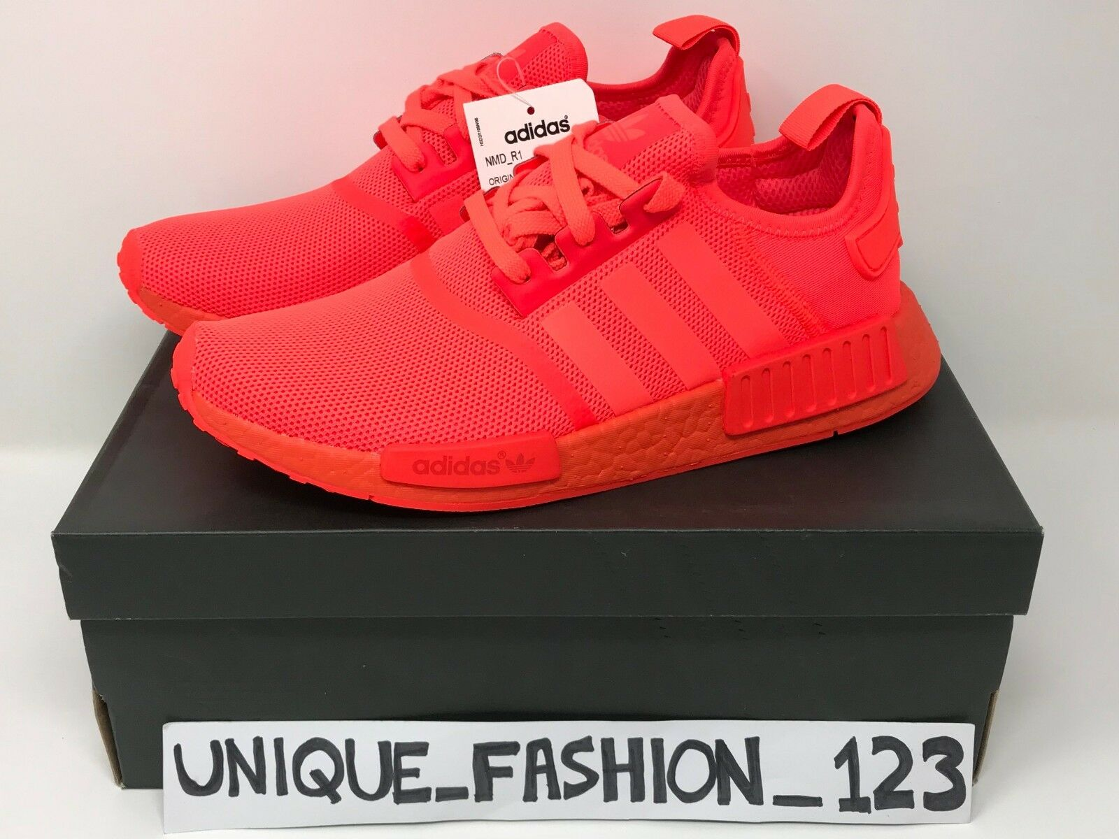 wholesale dealer 2c348 63f47 ADIDAS NMD R1 TRIPLE SOLAR RED UK 6 7 8 9 10 11 MESH S31507 LIMITED EDITION  2016