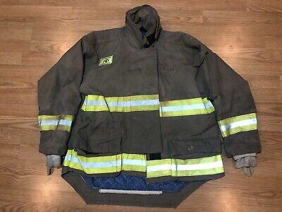 Morning Pride Fire Fighter Turnout Jacket 50 2935 35 Bunker Gear 2764