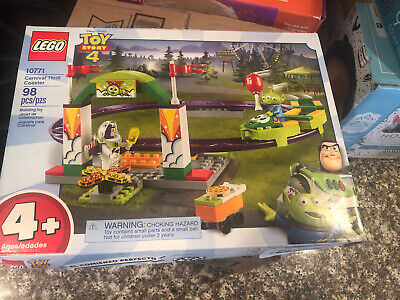 LEGO Disney Pixar Toy Story 4 10771 Carnival Thrill Coaster New Sealed