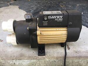 Davey XS 250 Spa Pump Tallai Gold Coast City Preview