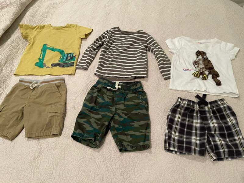 boys outfit sets size 2-3T lot of 6