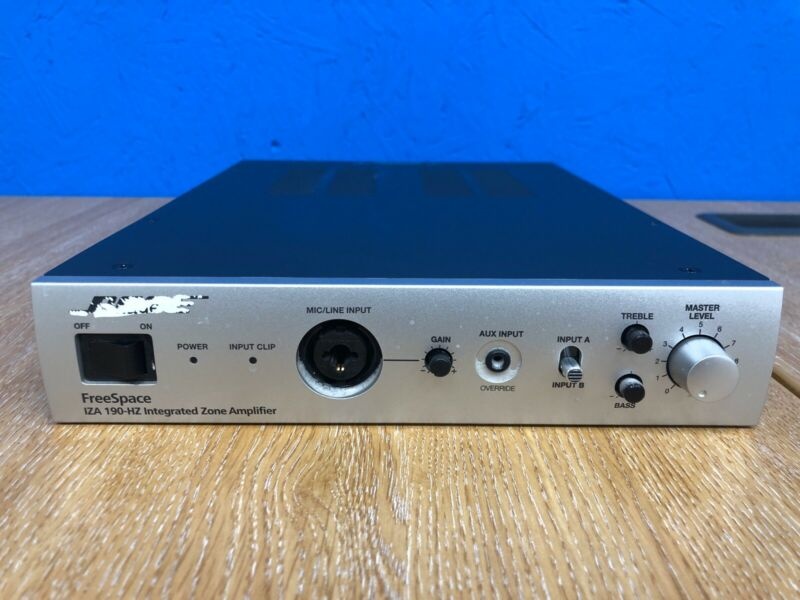 BOSE FreeSpace IZA 190-HZ Integrated Zone Amplifier 100v
