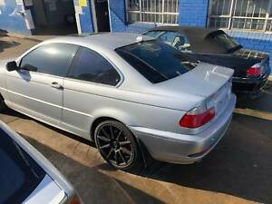 BMW 325CI E46 SILVER WITH BLACK AUTO WRECKING CAR 4 PARTS ONLY Northmead Parramatta Area Preview