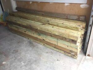 Pressure treated wood (read description for price)