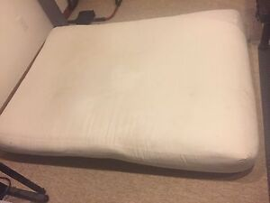 Futon- double mattress only- no bed frame