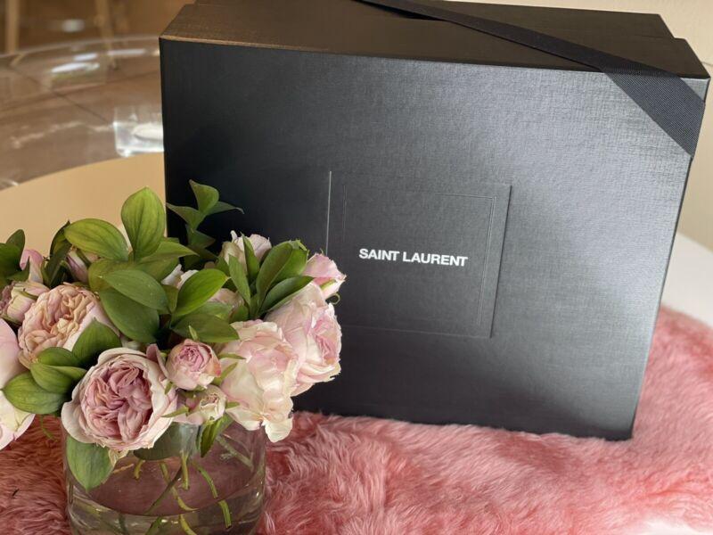SAINT LAURENT EMPTY HANDBAG BOX