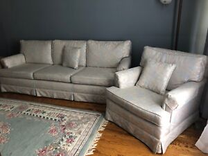 Couch and matching chair - priced to sell!