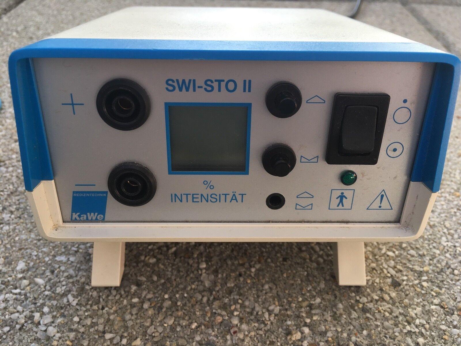 KaWe SwiSto 2 Iontophorese Komplett-Set - Iontophoresegerät gegen schwitzen