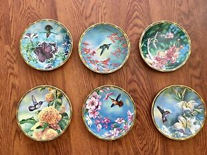 Collectible hummingbird plates for sale