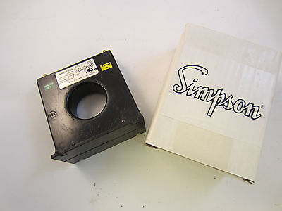 Simpson 37023 Current Transformer 3005 For Panel Meter