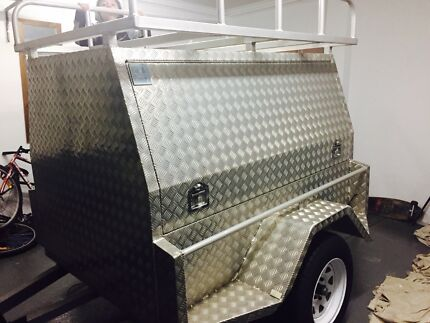 New tradie  made trailer