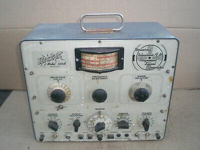 Vintage Hickok 610a Universal Television Fm Alignment Signal Generator