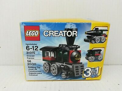 LEGO Creator Christmas Train 31015 EMERALD EXPRESS 3 in 1 NEW IN BOX