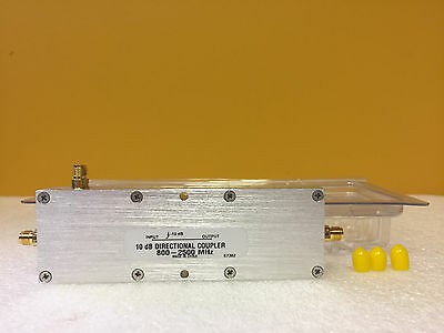 Microlab Fxr Ck-67f 800 To 2500 Mhz 100 W Sma F Directional Coupler New
