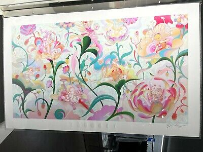 """[JAMES JEAN x BTS] Garden Signed Art Print """"Seven Phases"""" Hybe Insight + DHL"""