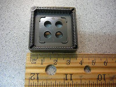 MILL-MAX PLCC Through Hole PLCC Socket 84-Pin  ***NEW*** -