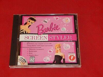 Barbie Screen Styler CD-Rom (Vintage)