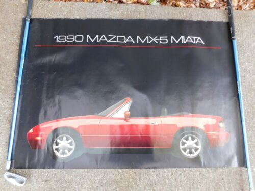"""VINTAGE 1990 MAZDA MX-5 MIATA POSTER 24"""" x 36"""""""