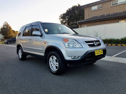 2002 Honda CR-V Sport Automatic 4x4 wagon. Full Service history. West Ryde Ryde Area Preview