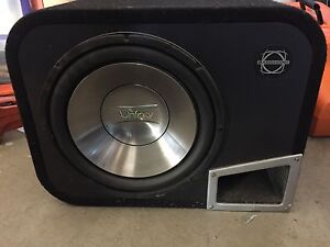 Infinity Sub/Box and Amp for sale