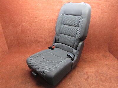 Center Straight Bar (Sitz Rücksitz Einzelsitz hinten mitte klappbar anthrazit VW Touran I Original )