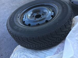 Used Nordic Winter Tires with Steel rims