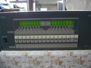 Matrice audio video 16x16 della BTS modello MS16 - Italia - Matrice audio video 16x16 della BTS modello MS16 - Italia