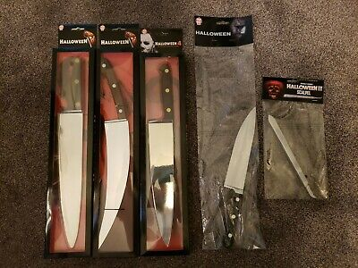 Halloween: MICHAEL MYERS BUTCHER KNIFE and Scalpel Bundle