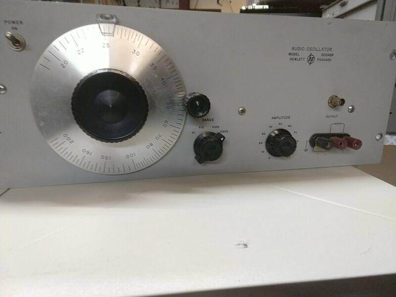 Hewlett Packard Model: 200ABR Audio Oscillator