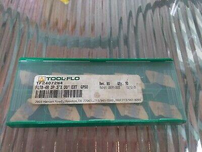 Tool Flo Fltb-4r 3p 3 X 30 Gp50 Inserts