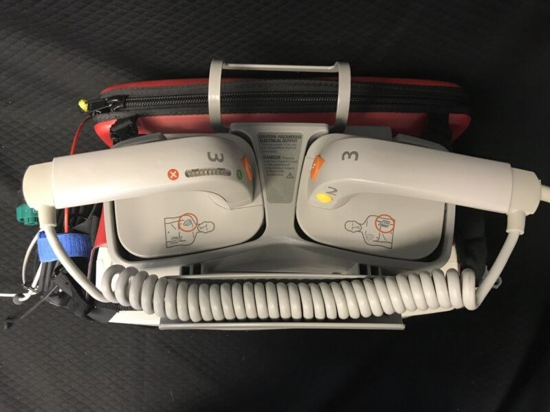 Philips M3543A External Hard Paddles for HeartStart MRx/XL/XL+ *BIOMED TESTED*