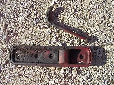 Farmall 450 400 Gas Tractor Ih Engine Motor Block Side Cover Panel W Tube