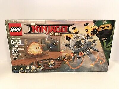 LEGO The NINJAGO Movie 70610 Flying Jelly Sub Set NEW Factory Sealed Retired