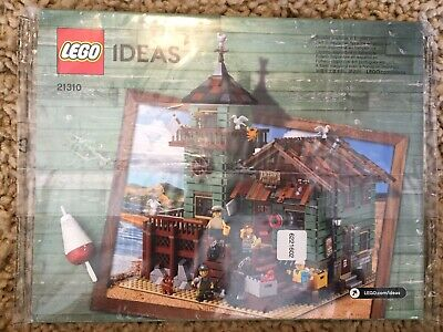 Lego Ideas 21310 Old Fishing Store Instruction manual book ONLY NEW Plastic Wrap