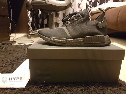 Adidas NMD R1 Primeknit Japan Triple Black US8