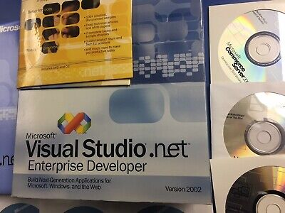 Visual Studio Enterprise Developer 2002