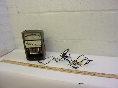 Sencore Tf26 Portable Cricket Transistor Fet Tester Very Nice Condition