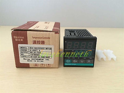Digital Pid Temperature Controller Rex-ch102 Kept100 Input Relayssr Output