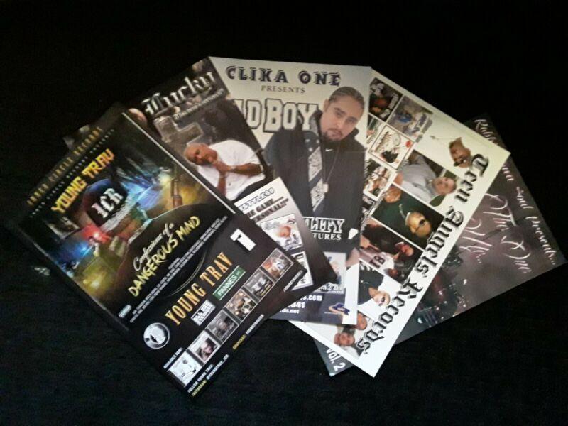 5 Chicano Rap/Old School Funk Poster 11x17