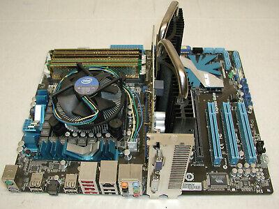 ASUS Mainboard P7P55D, Intel i5 760 Quad Core, Lüfter, 8GB RAM, ASUS Grafikkarte